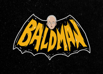 baldman buy t shirt design