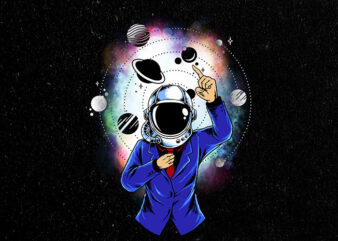 astro suit t shirt design for sale