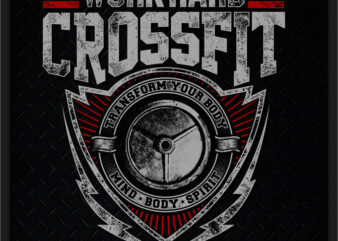 WORK HARD CROSSFIT