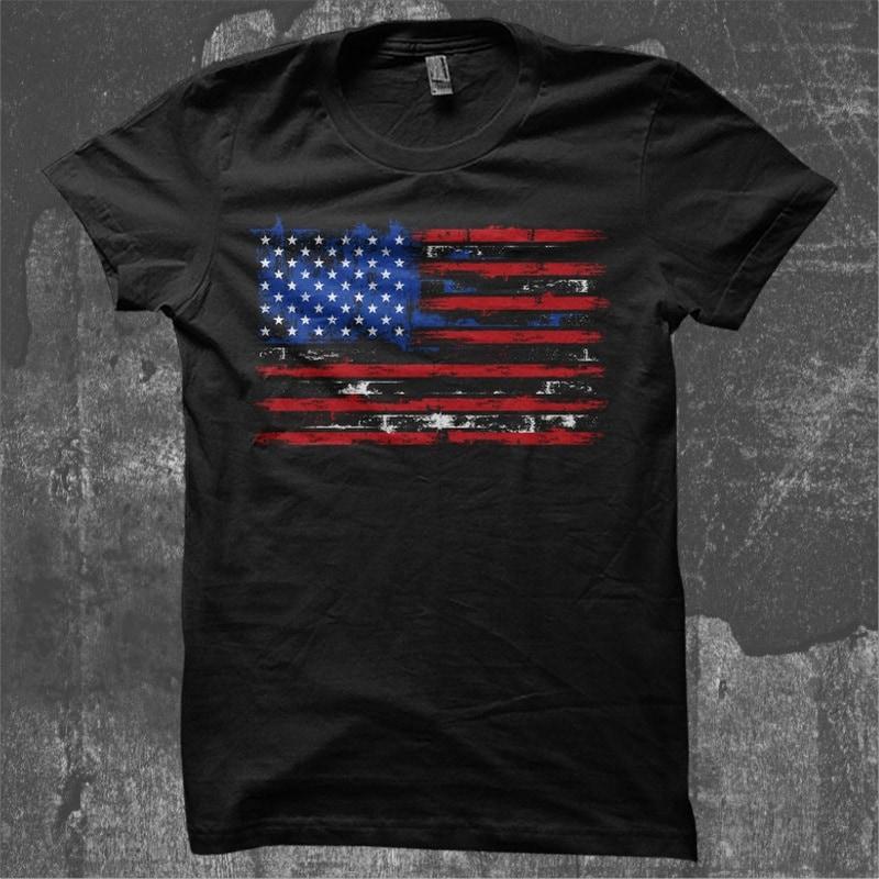 USA Distressed Flag