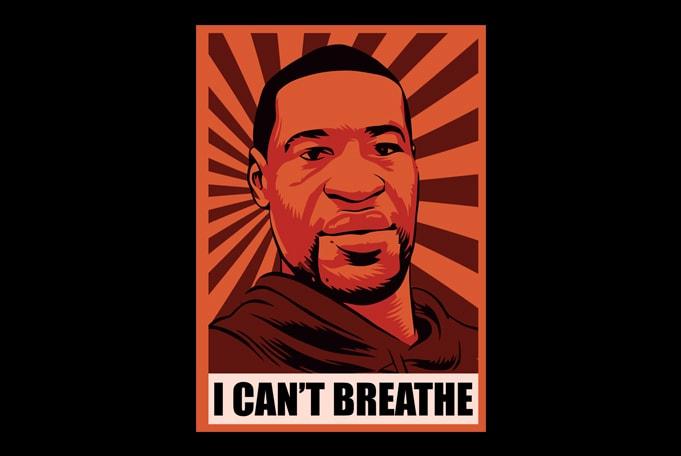10 Best selling Black Lives Matter George Floyd graphic t-shirt design