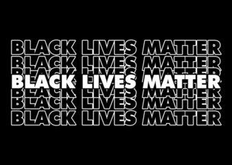 black lives matter t-shirt design for sale