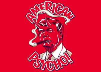 AMERICAN PSYCHO t shirt design to buy