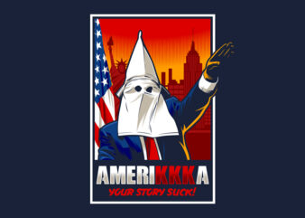 AMERIKKKA buy t shirt design