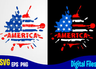America svg, 4th july, 4th of July svg, USA Flag, Stars and Stripes, Patriotic, America, Independence Day design svg eps, png files for cutting machines and print t shirt designs for sale t-shirt design png