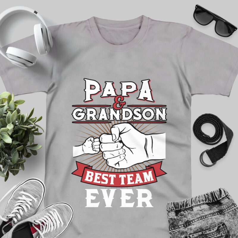 DAD Family SVG PNG files / best father day t-shirt design