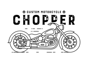 Chopper 2 graphic t-shirt design