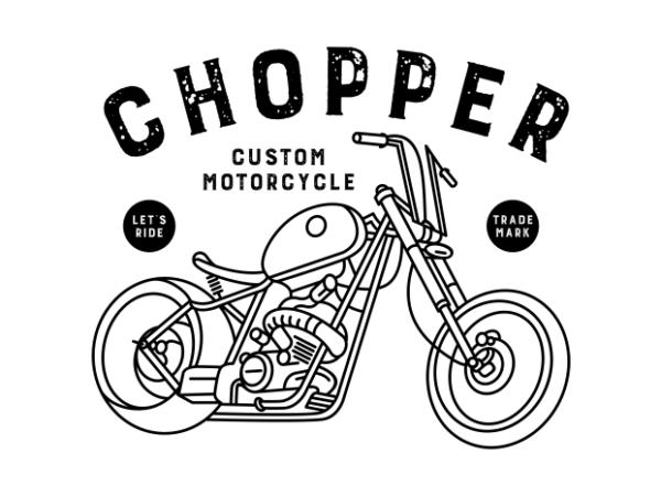 Chopper 3 t shirt design to buy