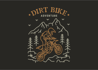 Dirt Bike 2 buy t shirt design for commercial use