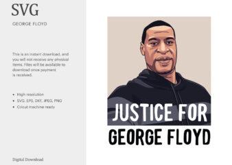 George Floyd SVG, Black History SVG, Black Lives Matter SVG, T-shirt Design, I Can't Breathe, Protest t shirt design for sale