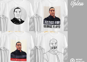 George Floyd Bundle, Black History SVG, Black Lives Matter SVG, T-shirt Design, I Can't Breathe, Protest t shirt design for sale
