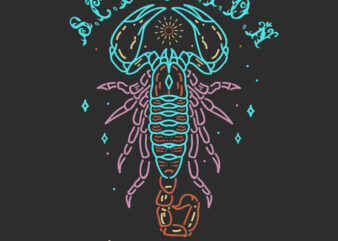 Scorpion T-Shirt Design