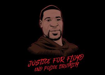 Justice For Floyd buy t shirt design artwork