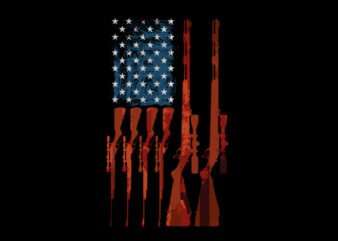 usa rifle flag shirt design png buy t shirt design for commercial use