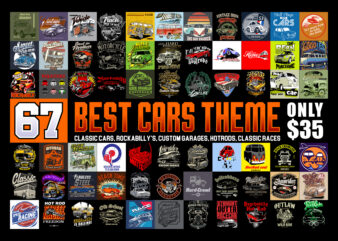 69 BEST CARS THEME ONLY &35
