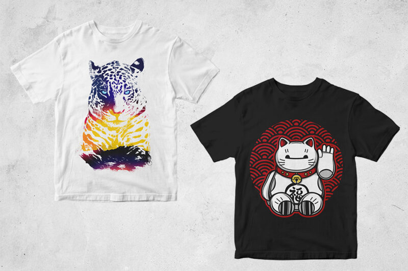69 t shirt designs bundle – cool artwork – all style – freestyle!!!