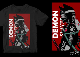 demon slayer design for t shirt