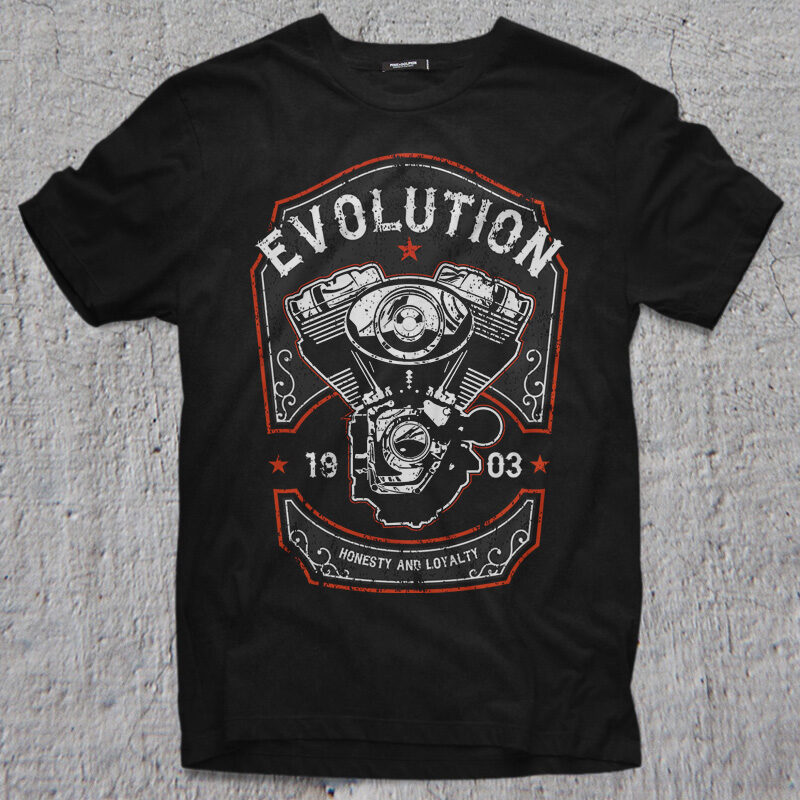 64 BEST BIKER THEME t shirt & poster designs bundle commercial use t shirt designs