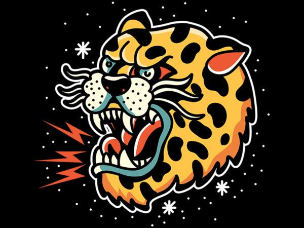 leopard design for t shirt