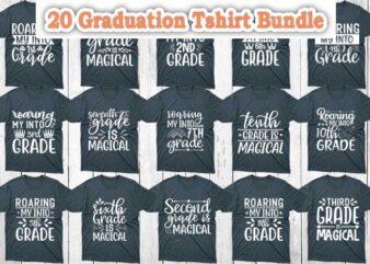 20 Graduation Tshirt Designs Bundle, Graduation svg bundle, Graduation craft bundle, Graduation cutfiles, Graduation cricut