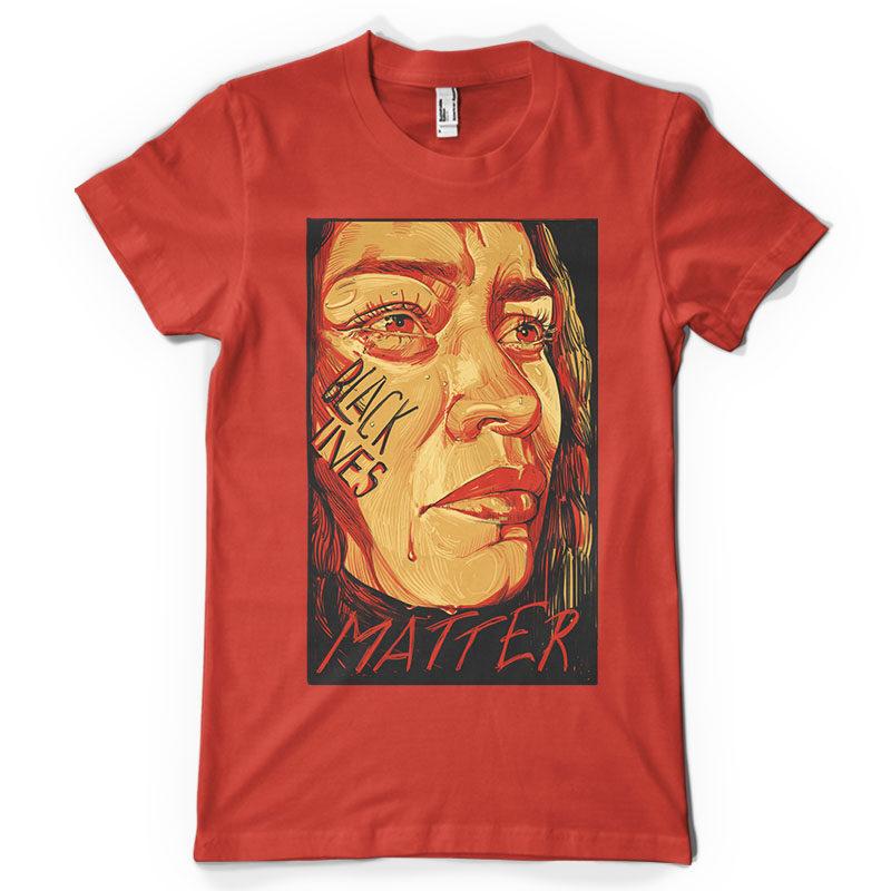 Black lives matter t shirt design for sale