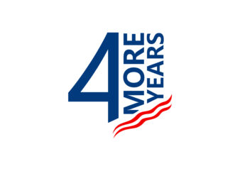 Four More Years T-shirt Design Slogan. Eps Svg Png