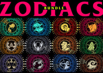 12 Zodiacs Bundle