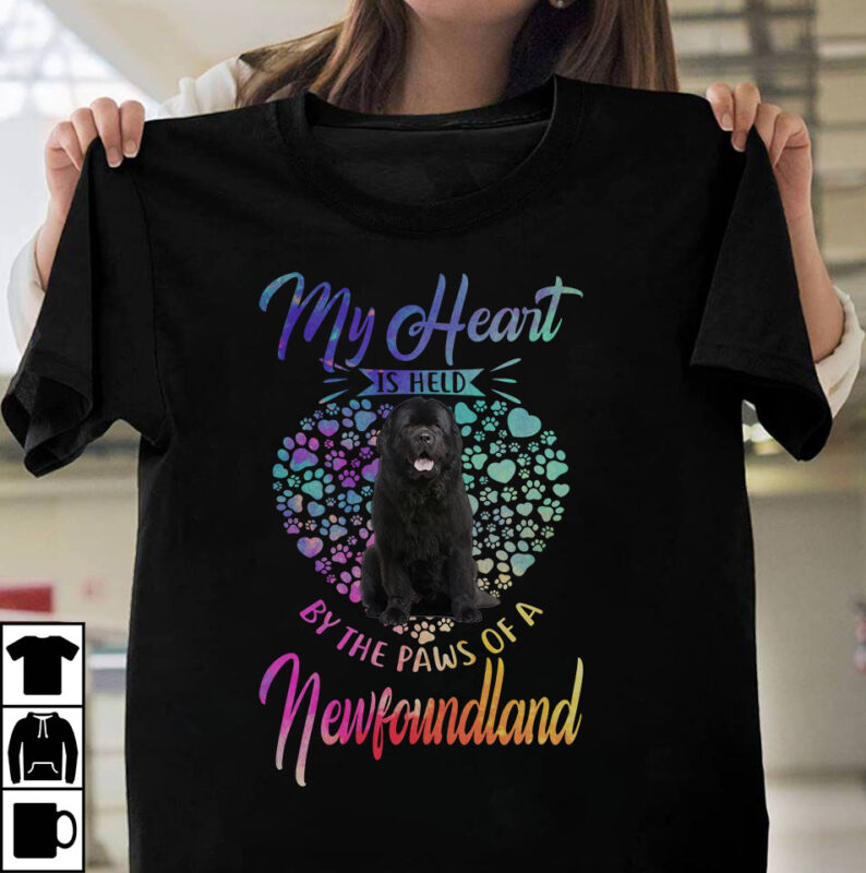 1 DESIGN 30 VERSIONS – DOGS My heart is held by the paws of a dog
