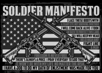 SOLDIER MANIFESTO