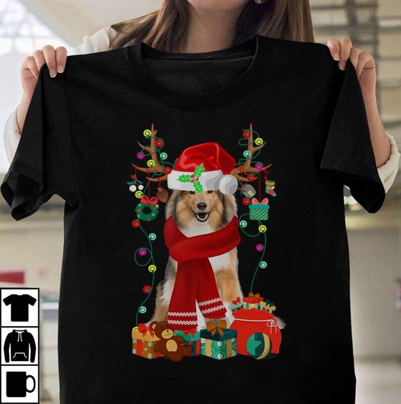 1 DESIGN 30 VERSIONS – Dog Breeds Christmas