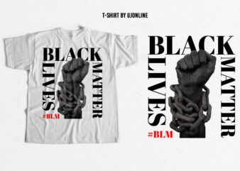 Black Lives Matter Trending T-shirt design – buy t-shirt design – BLM