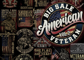 BIG SALE AMERICAN VETERAN VOL 2