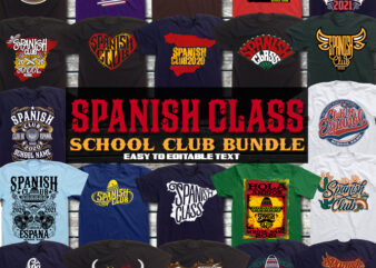 SPANISH CLUB T-SHIRT BUNDLE