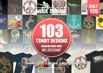 103 Vector T-shirt Designs