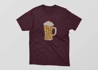 I'M Never Drinking Again Tshirt Design