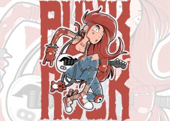 punk rock best tshirt design