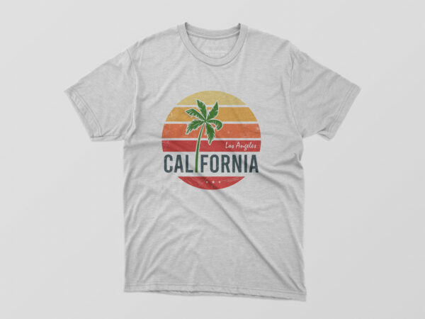 California Tshirt Design