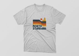 North Standard Tshirt Design