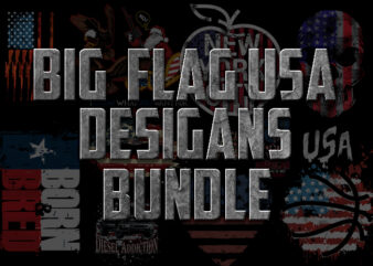 BIG FLAG USA DESIGNS BUNDLE