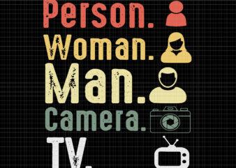 Person women man camera tv anti trump joe biden 2020 svg, person women man camera tv anti trump joe biden 2020, person women man camera tv svg, person women man camera tv, trump svg, trump