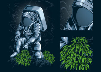 before cannabis was on earth, astronaut
