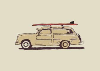 design tshirt Go to the beach