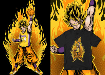 the legend saiyan kobe bryant