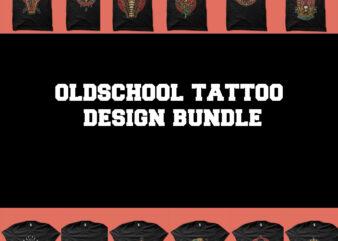 oldschool design bundle tshirt design