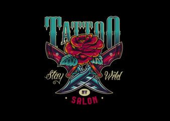 Tatto Knife 1