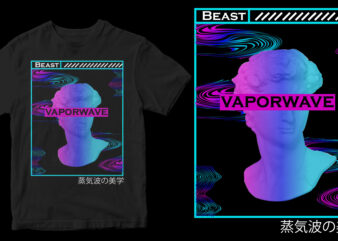 vapoerwave aesthetic shirt design