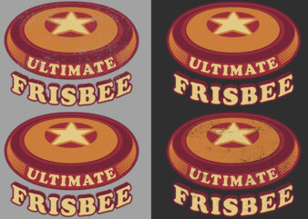 Ultimate Frisbee Disc