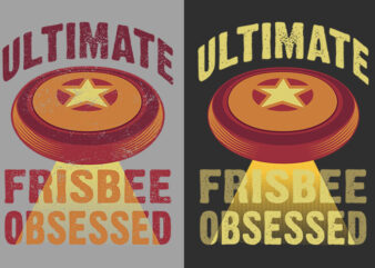 Ultimate Frisbee Obsessed