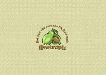 Avocado t-shirt design
