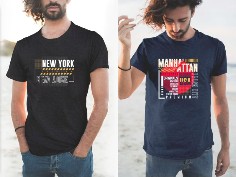106 Urban Street Style T-shirt Design Vector Bundle. Authentic Athletic Sports Typography Tee Shirt Designs Pack. New York City, Brooklyn, California, Los Angeles. T shirt Design for Commercial Use. Eps Svg Png